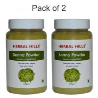 Herbal Hills Senna powder 100 gms powder (Pack of 2) - Laxative